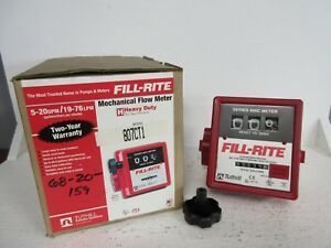 Tuthill 807ct1 New Fill rite Heavy Duty Mechanical Flow Meter 807ct1