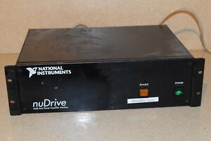 National Instruments Nudrive Multi axis Power Amp Interface Nudrive 2cx 001