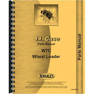 New Case W7c Tractor Parts Manual