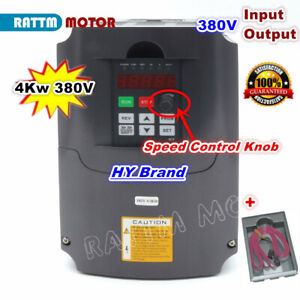 4kw 380v 10a Vfd Inverter Spindle Variable Frequency Drive Hy Vsd Converter