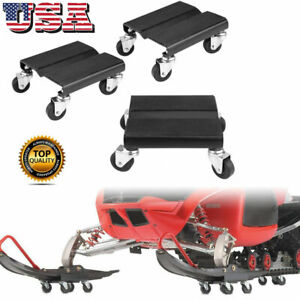 3x 1500lbs Capcity Tire Car Dolly Auto Repair Snowmobile Moving Dollies Set Us