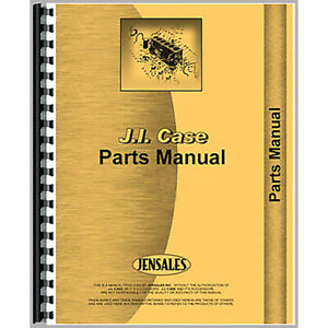 Parts Manual For J i Case Ih 450c 455c Crawler diesel Models 492 Page Manual