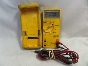 Fluke 23 Series Ii Multimeter With Leads And Cover fully Working