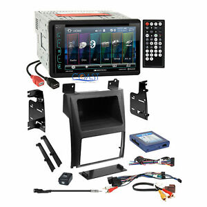 Soundstream Usb Bluetooth Stereo Dash Kit Amp Harness For 07 Cadillac Escalade