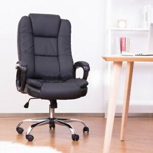 Luxury Ergonomic Executive High Back Pu Office Chair Massage Computer Desk Chair