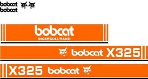 Whole Machine Ingersoll Rand Decal Set For Bobcat Excavator X325