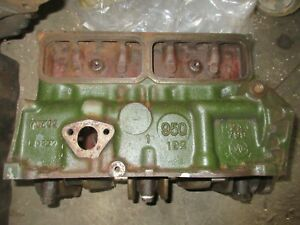 Austin Healey Bugeye Sprite Mg Midget Engine Block With Crankshaft 1958 1962