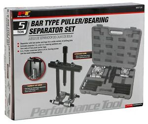Performance Tool W87128 Bar Type Puller Bearing Separator Set