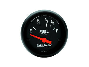 Autometer Z series Electric Ford Mopar 73 Ohm 10 Ohm Fuel Level Gauge 2 1 16
