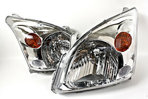 2003 2008 Toyota Land Cruiser Fj120 Prado Headlights Pair 2004 2005 2006 2007