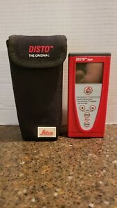 Leica Disto Tape Laser Distance Measurement With Carrying Case