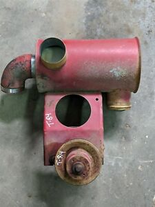 Air Cleaner Thermostat Housing Fan Pulley International Farmall 706