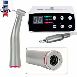 Nsk Style Dental Led Brushless Electric Micro Motor 1 5 Increasing Contra Angle
