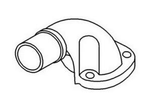 A 7000805m1 Massey Ferguson Parts Elbow Exhaust 231 240p
