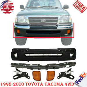 Front Bumper Reinforcement Brackets Signal Lamp Lh rh For 98 00 Tacoma 4wd