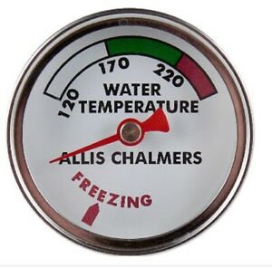 Water Temp Gauge Allis chalmers B C Ca Wc Wd Wd45