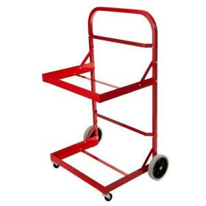 Utility Cart Aluminum Stainless Steel Frame Trays Powder Coated Heavy Duty
