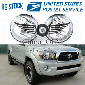 Front Fog Lights For 2005 2006 2007 2008 2009 2010 2011 Toyota Tacoma Fog Lamps