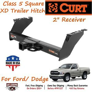 15300 Curt Class 5 Xtra Duty Trailer Hitch With 2 Receiver