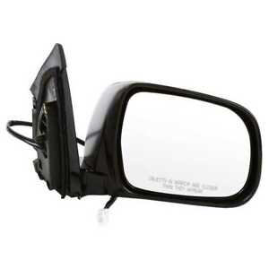 Power Heated Memory Black Right Rh Side View Mirror Fits 2004 2006 Lexus Rx330