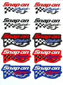 new Vintage Snap on Tools Racing Tool Box Sticker Decal Man Cave Garage 10