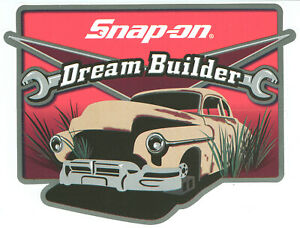 New Vintage Snap On Tools Tool Box Sticker Decal Man Cave Garage Dreambuil 49