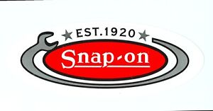 new Vintage Snap on Tools Tool Box Sticker Decal Man Cave Garage Est 1920 30