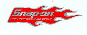 New Vintage Snap On Tools Tool Box Sticker Decal Man Cave Garage High Perf 14