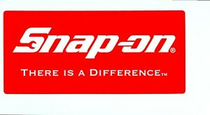 new Vintage Snap on Tools Tool Box Sticker Decal Man Cave Garage Tad 39