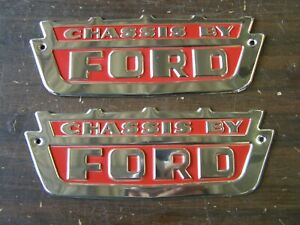 Nos Oem Ford 1960 S Chassis By Ford Emblems Truck 1964 1965 1966 1967 1968 1969