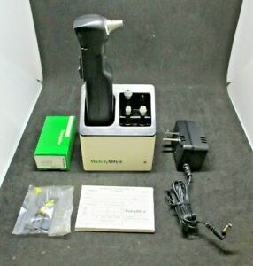 Welch Allyn Audioscope 3 Portable Screening Audiometer With Charging Stand 23300