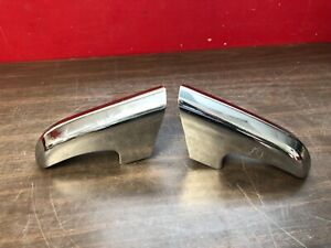 1952 1953 Lincoln Lower Front Bumper Guards Lh Rh Pair Nos 519