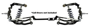 New Ridetech Front Truturn System control Arms drop Spindles 68 79 Corvette C3