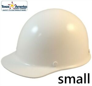 Msa Skullgard Small Cap Style With Ratchet Suspension White
