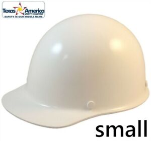 Msa Skullgard small Shell Cap Style Hard Hat With Ratchet Suspension White