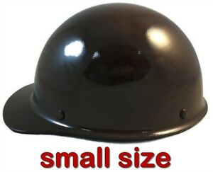 Msa Skullgard small Shell Cap Style Hard Hat With Ratchet Suspension Brown