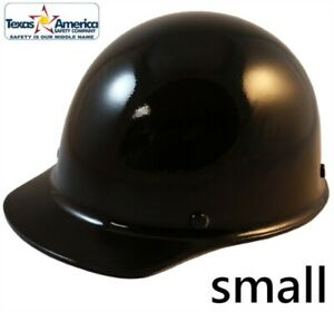 Msa Skullgard small Shell Cap Style Hard Hat With Ratchet Suspension Black