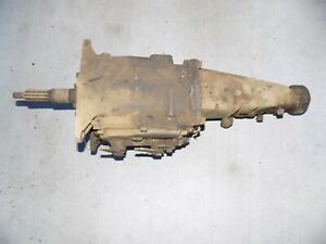 Saginaw 4 Speed Transmission Chevy Camaro Nova Impala 68 69 70 71 72 73 74 75 76