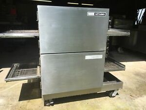 Lincoln Double Stack Conveyor impinger Pizza Ovens 1116 gas 90 Day Warranty