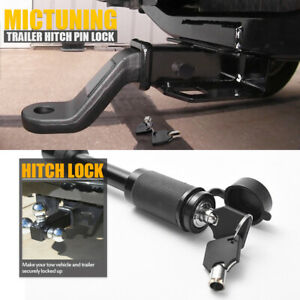 Trailer Hitch Pin Lock Receiver 5 8 Inch Heavy Duty Anti Theft Towing Hauling