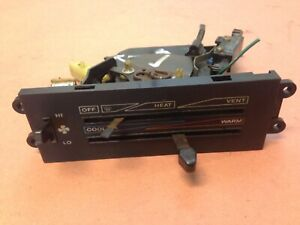 Jeep Yj Heater Control 87 95 Wrangler Broken For Parts