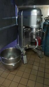 Hobart 80qt Mixer L800 ss Bowl Hook whip paddle Attachments 1 Year Warranty