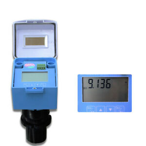 Integrated Ultrasonic Water Tank Level Gauge Meter Liquid Level Sensor 4 20ma