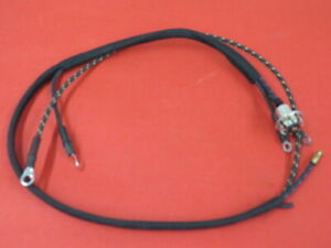 New 1937 Ford Dash Clock Wire Harness 78 15026