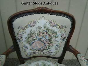 59160 French Bergere Armchair Chair