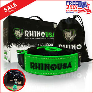 Rhino Usa Recovery Tow Strap 3 X 30ft Lab Tested 3in X