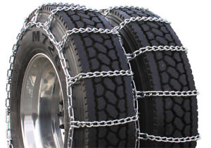 Highway Service Dual 305 70 16 Truck Tire Chains H4229sc
