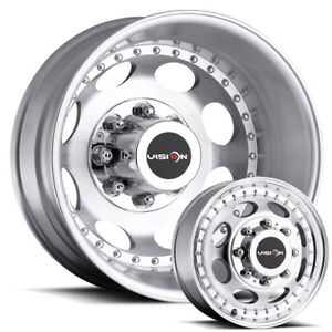 19 5 Dually New Wheels And Tires Ford F350 And F450 Dodge Chevy Gmc 3500