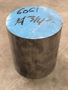 4 3 4 Diameter 6061 Aluminum Round Bar Rod 4 75 X 5 3125 Length