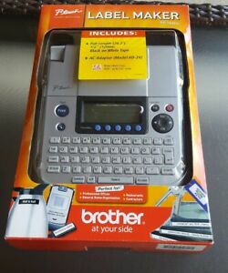 Brother P touch Label Maker Electronic Labeling Systems Pt 1830sc